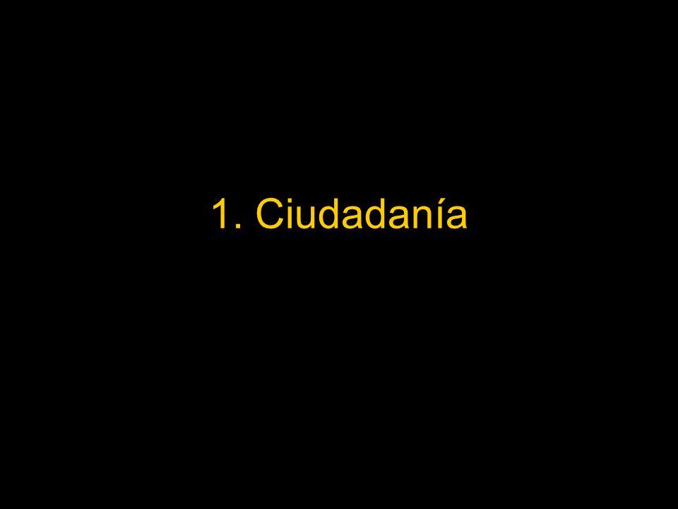 1. Ciudadanía