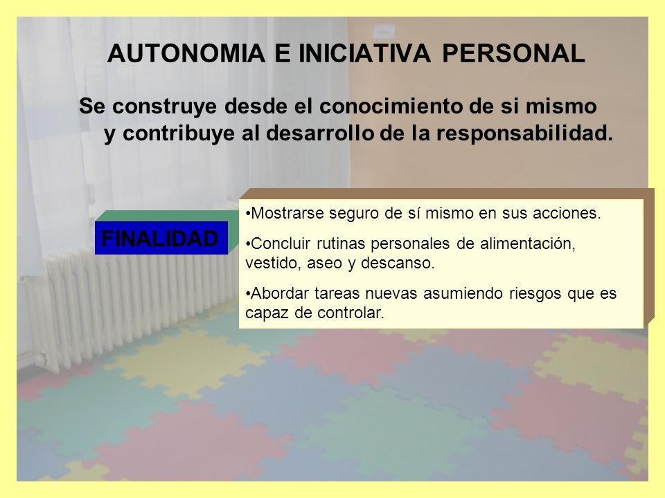COMPETENCIA EMOCIONAL Se construye desde el autoconcepto y desarrolla la autoestima.