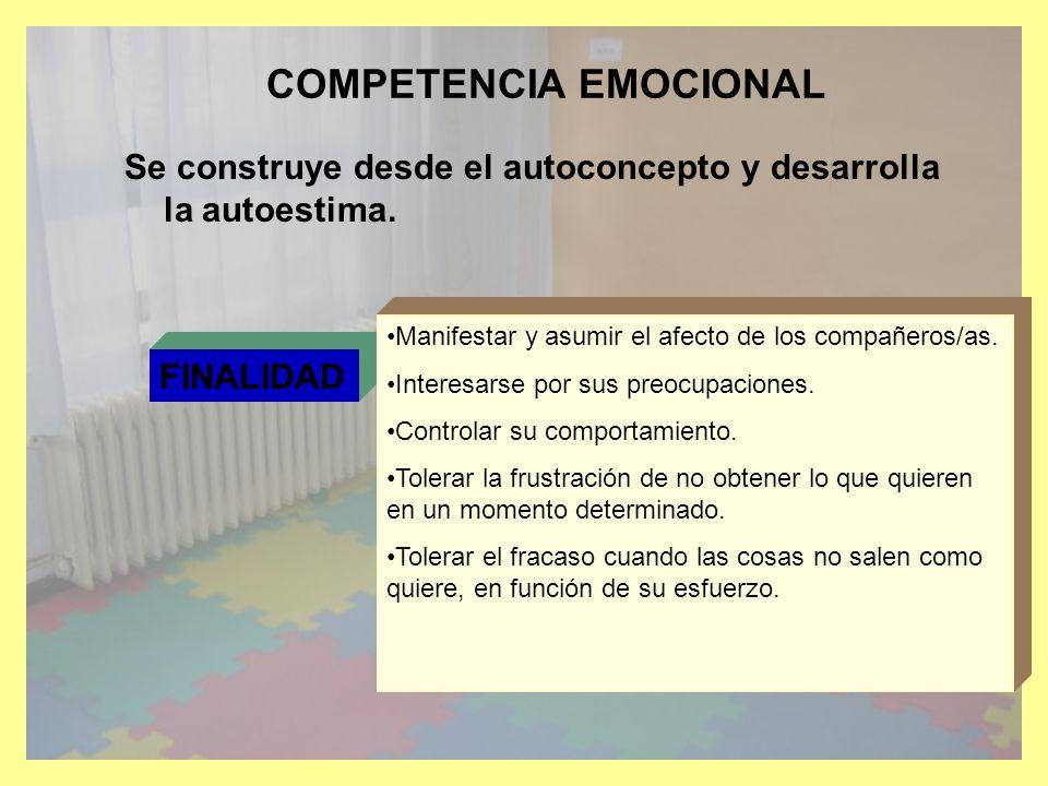 CONOCIMIENTO DE SI MISMO Y AUTONOMIA PERSONAL EL CUERPO: IMAGEN Y SALUD.