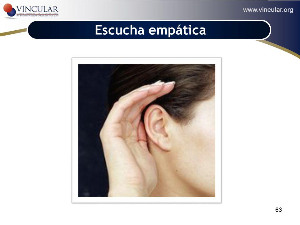 www.vincular.org 63 Escucha empática