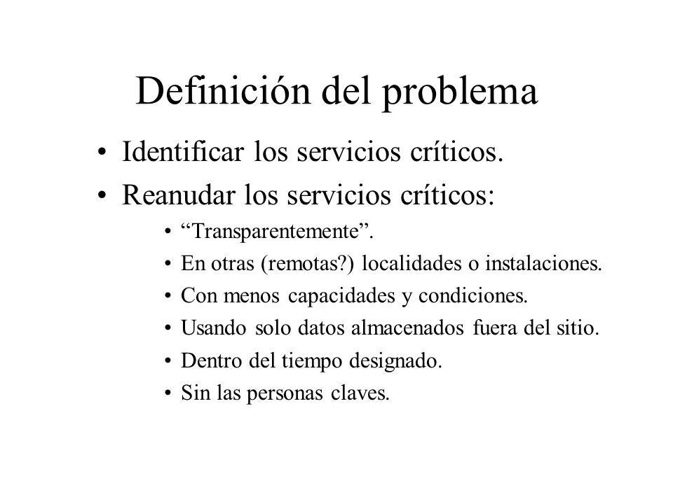 Degradación del servicio Reducción de las respuestas a los servicios.