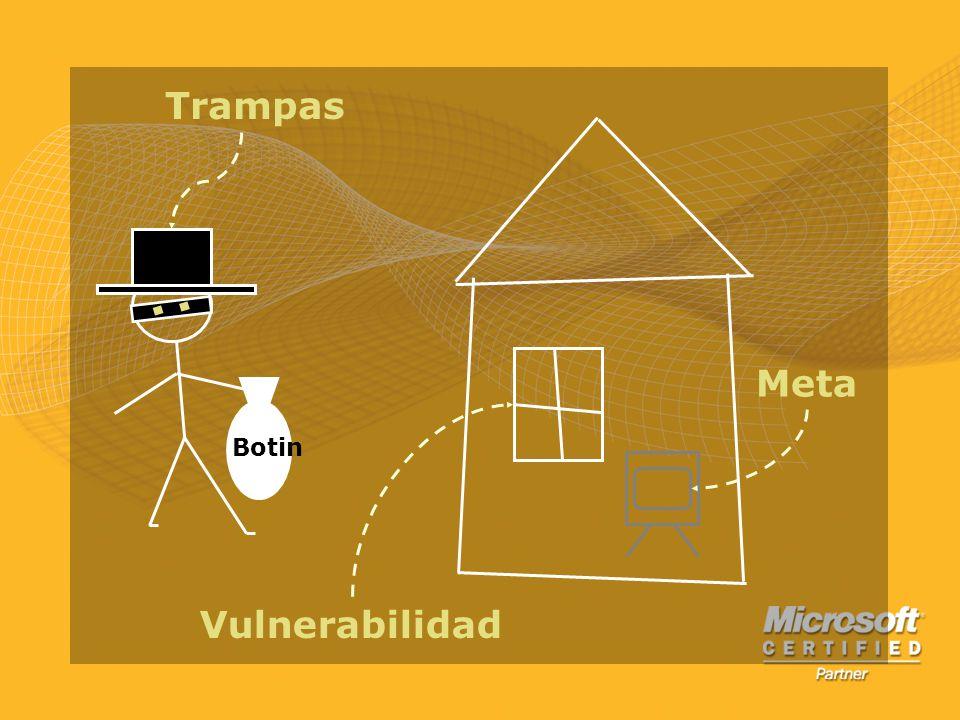 Meta Vulnerabilidad Trampas Botin
