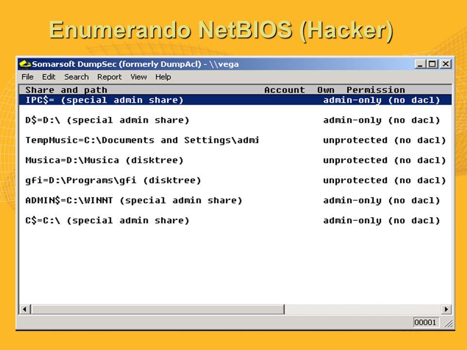 Enumerando NetBIOS (Hacker)