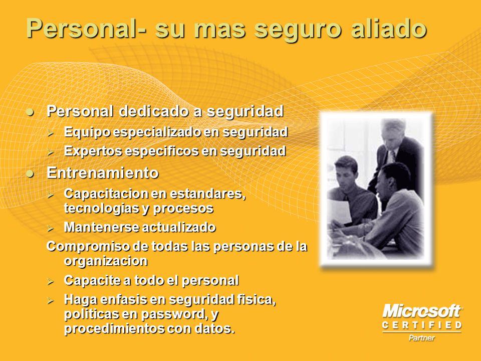Personal- su mas seguro aliado Personal dedicado a seguridad Personal dedicado a seguridad Equipo especializado en seguridad Equipo especializado en s