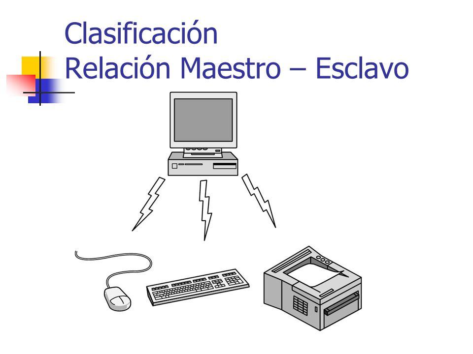 8 Clasificación Relación Maestro - Esclavo Maestro dice a dispositivos: Qué direcciones usar Cuando hacer broadcast Qué tan largo transmitir Qué frecuencias pueden usar ….