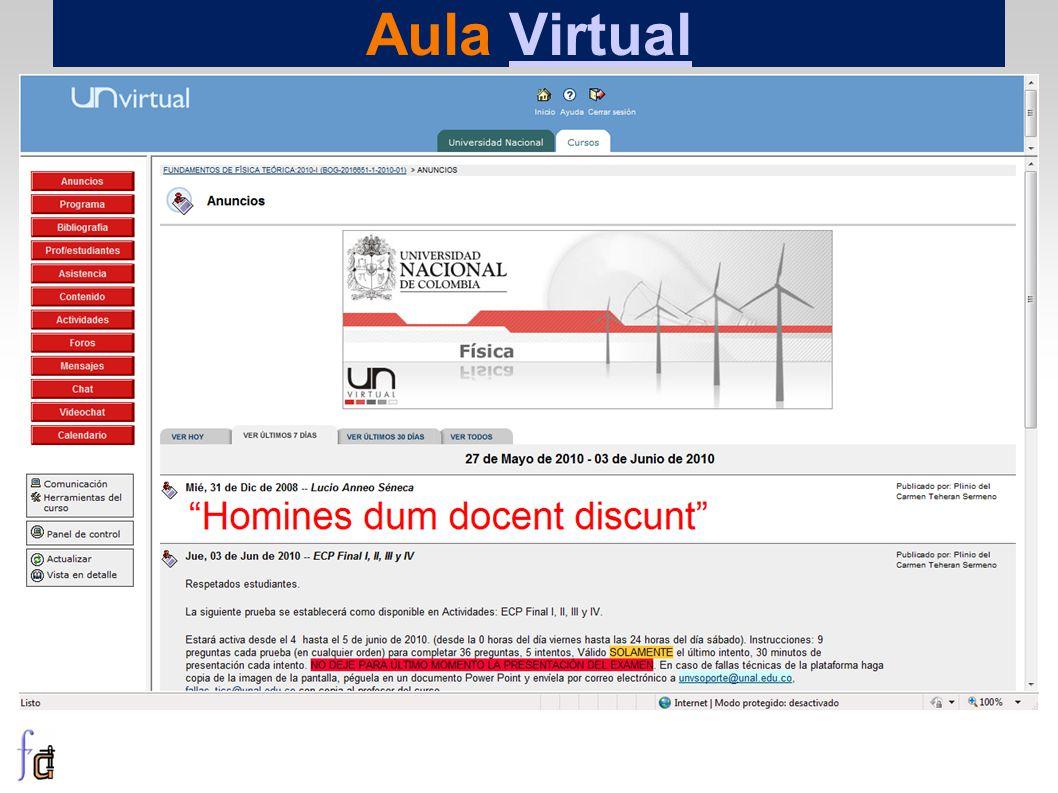 Aula VirtualVirtual