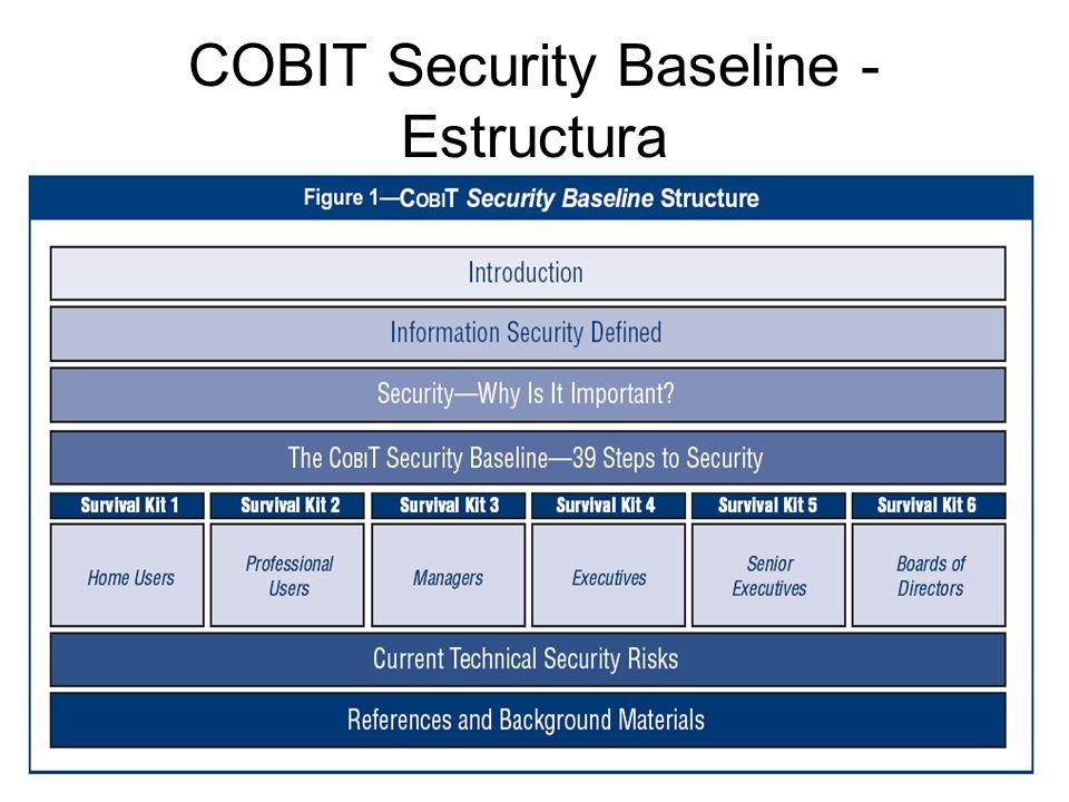 COBIT Security Baseline - Estructura