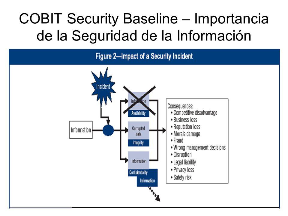 COBIT Security Baseline – Importancia de la Seguridad de la Información