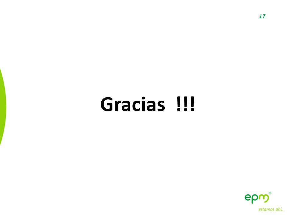 17 Gracias !!!