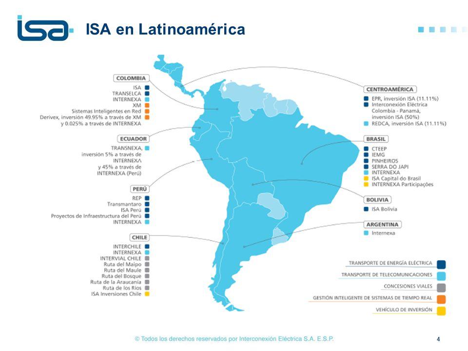 ISA en Latinoamérica 4