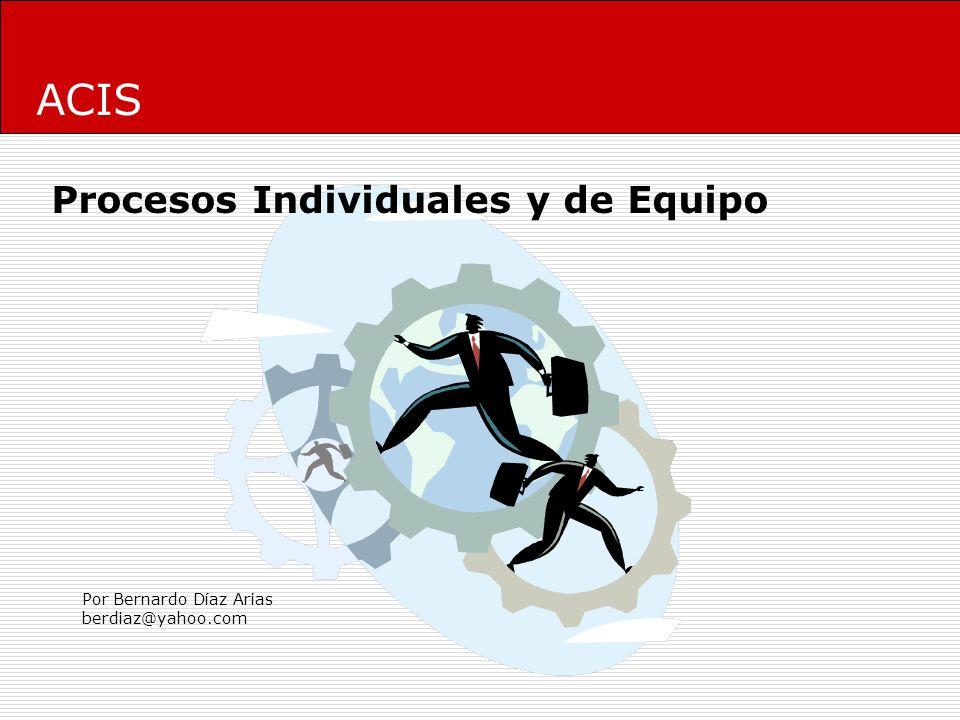 Procesos Individuales y de Equipo 1.Introducción 2.Personal Software Process 3.Team Software Process