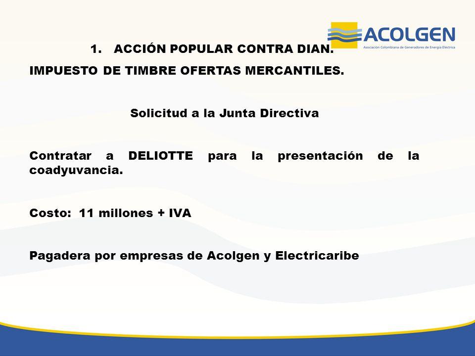 2.Demanda de nulidad contra Resolución SSPD - 20081300016515 del 09-06-2008 La demanda la presentaría ANDESCO.