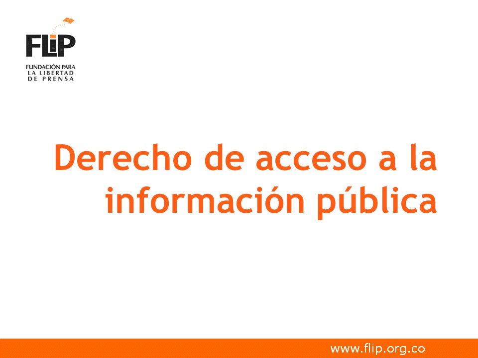 Índice Derecho de Acceso a la información Acceso a la información en temas electorales Ejercicios de control social y acceso a la información pública Mecanismos de acceso a la información