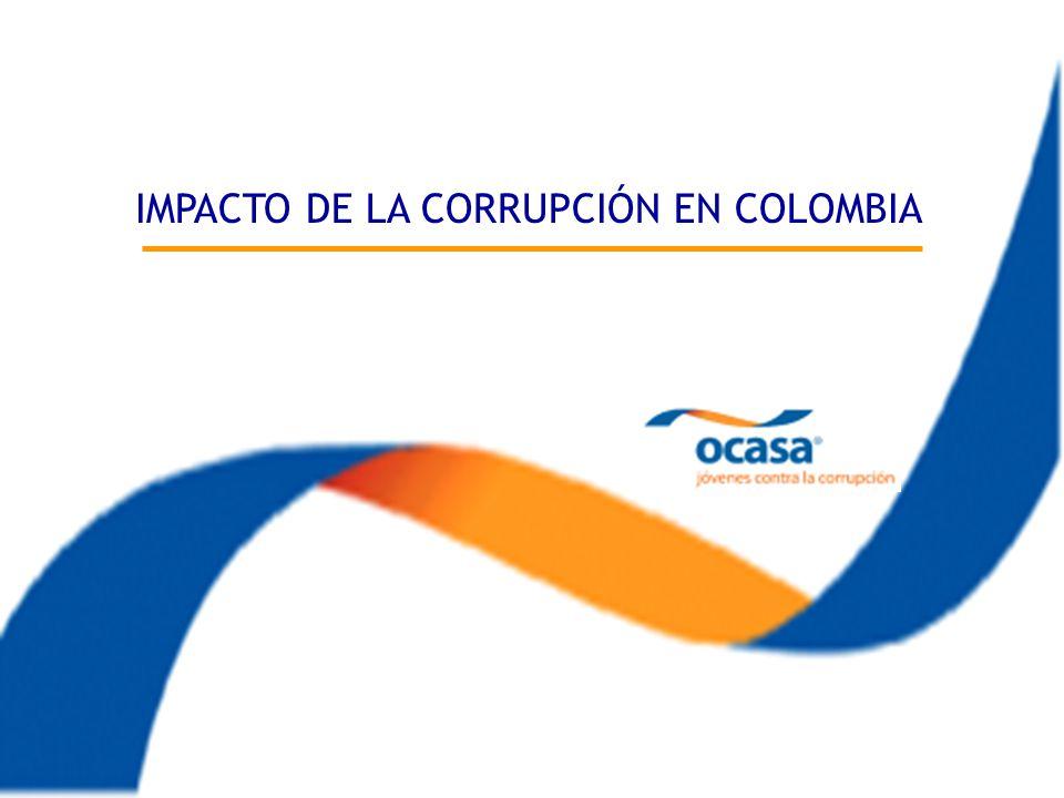 Impacto de la Corrupción en Colombia IMPACTO DE LA CORRUPCIÓN EN COLOMBIA