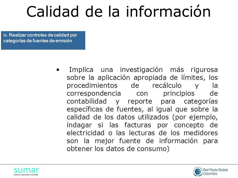 Implica una investigación más rigurosa sobre la aplicación apropiada de límites, los procedimientos de recálculo y la correspondencia con principios d