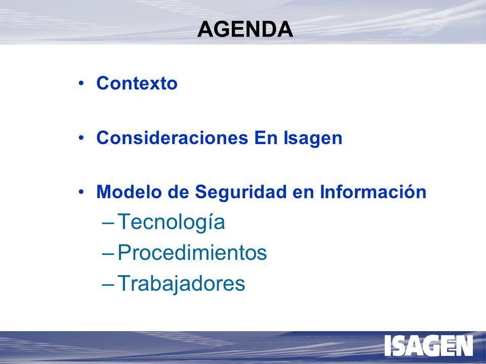 Dimensiones técnicas y humanas para la implantación del modelo de seguridad para activos de información en ISAGEN E.S.P.