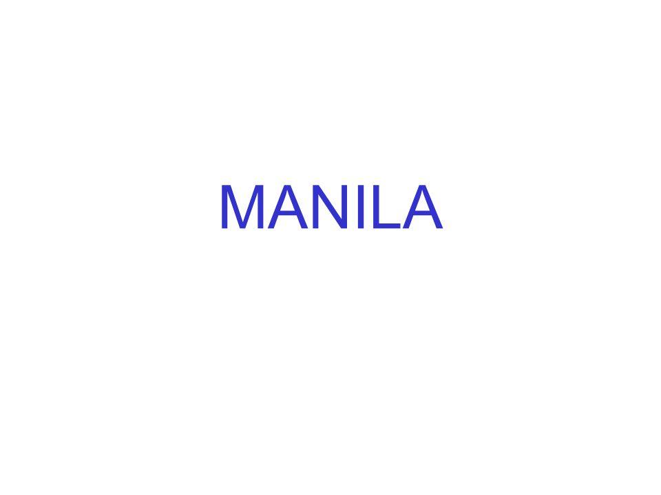 Manila es una ciudad de contrastes.