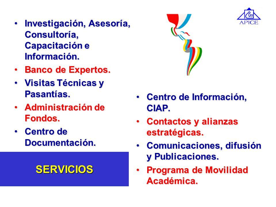 Misión Estudiar, investigar, difundir, fomentar, promover, evaluar y desarrollar sistemas de Crédito Educativo y de financiamiento de la educación sup