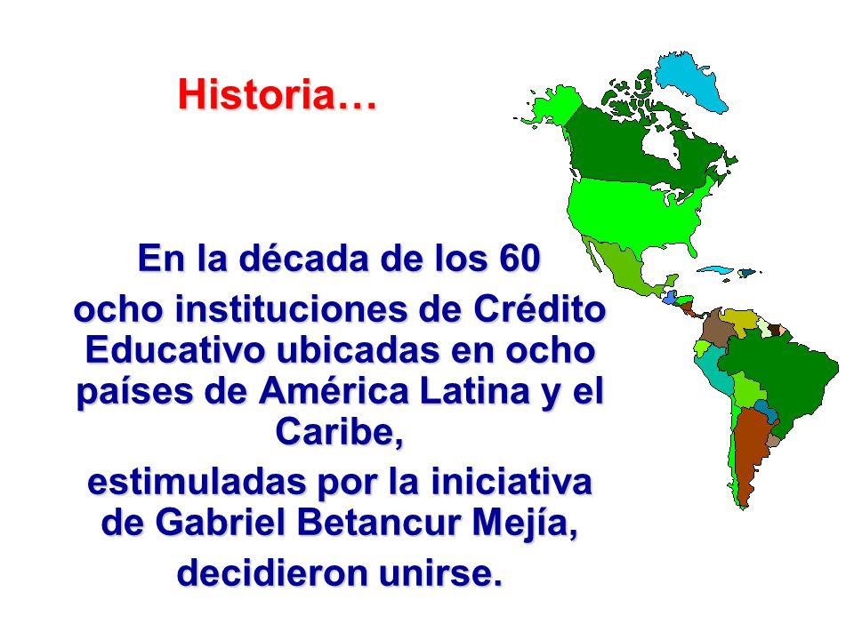 Historia 1944: Tesis de grado de Gabriel Betancur.1944: Tesis de grado de Gabriel Betancur. 1950: Nace ICETEX.1950: Nace ICETEX.
