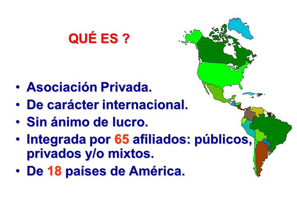 Asociación Panamericana de Instituciones de Crédito Educativo Total: 120 Sistema de Información Estadística de Crédito Educativo, SIECE Fuente: Centro