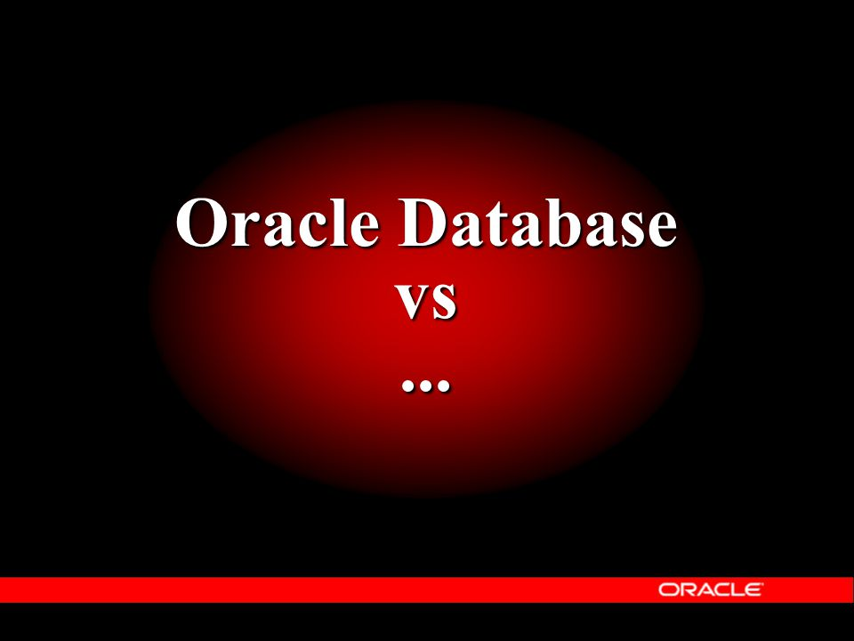 Oracle Database vs...