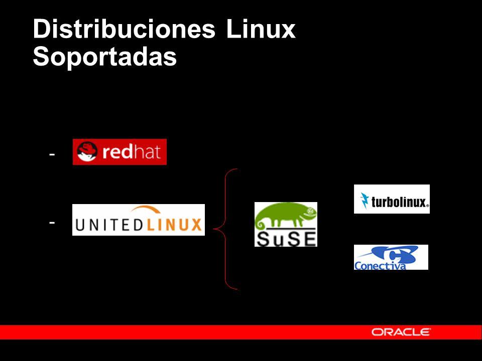 Distribuciones Linux Soportadas - -