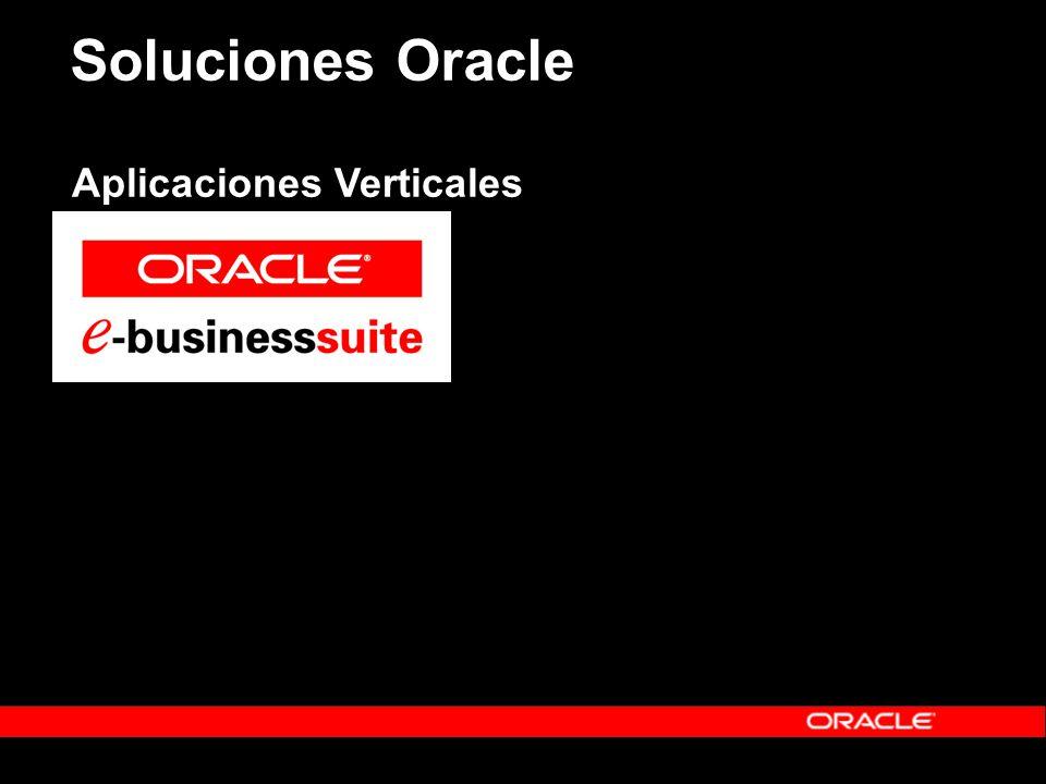 Soluciones Oracle Aplicaciones Verticales
