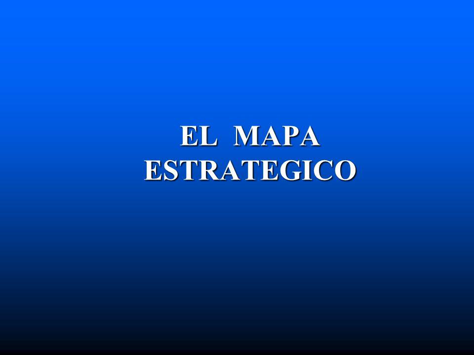 MAPA ESTRATEGICO EL MAPA ESTRATEGICO HACE EXPLICITO LAS HIPOTESIS ESTRATEGICAS Kapplan y Norton EL MAPA DESCRIBE EL PROCESO DE TRANSFORMACIÓN DE BIENES INTANGIBLES EN TANGIBLES: RESULTADOS FINANCIEROS, FRENTE AL CLIENTE Y EL MERCADO Kapplan y Norton UN MAPA ESTRATEGICO ES UNA ARQUITECTURA GENERICA QUE DESCRIBE UNA ESTRATEGIA Kapplan y Norton
