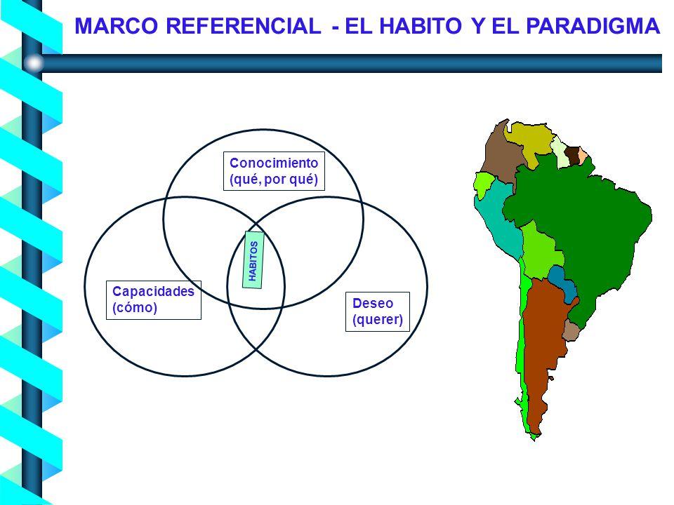 Proceso de Concienciación en Seguridad de la Información - Noviembre 2004- Conocimiento (qué, por qué) Capacidades (cómo) Deseo (querer) HABITOS MARCO REFERENCIAL - EL HABITO Y EL PARADIGMA