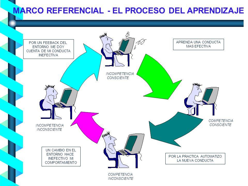 Proceso de Concienciación en Seguridad de la Información - Noviembre 2004- MARCO REFERENCIAL - EL PROCESO DEL APRENDIZAJE APRENDA UNA CONDUCTA MAS EFE