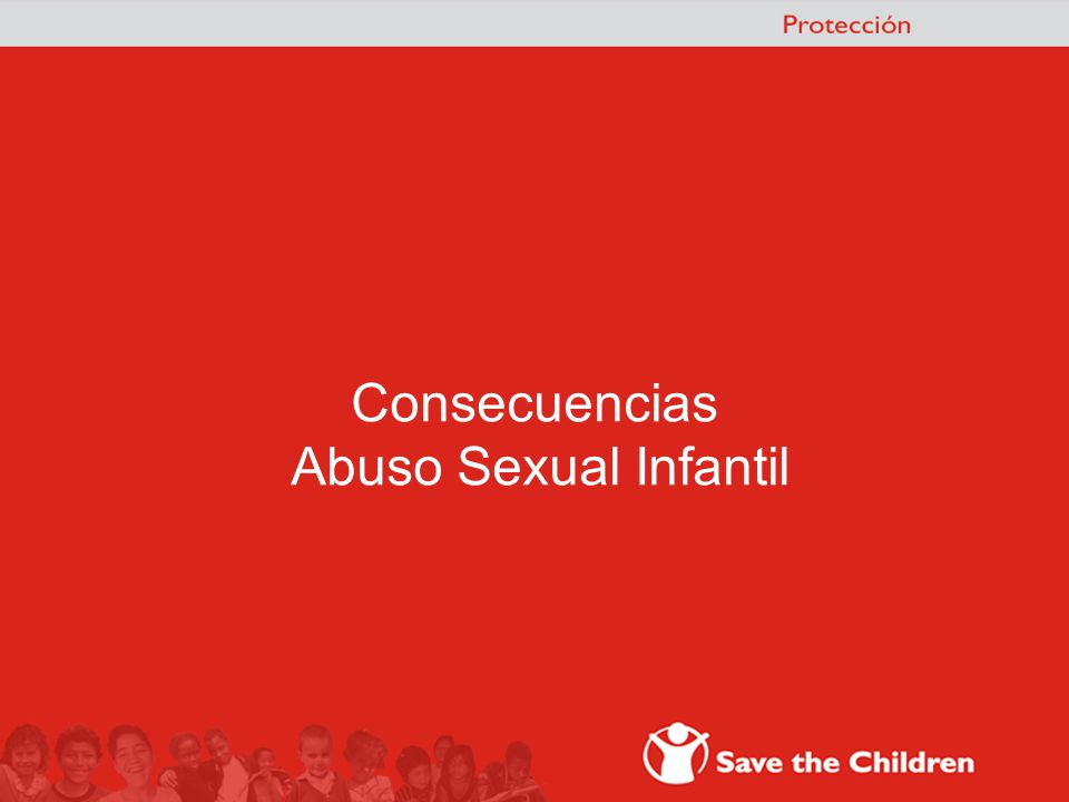 Consecuencias Abuso Sexual Infantil