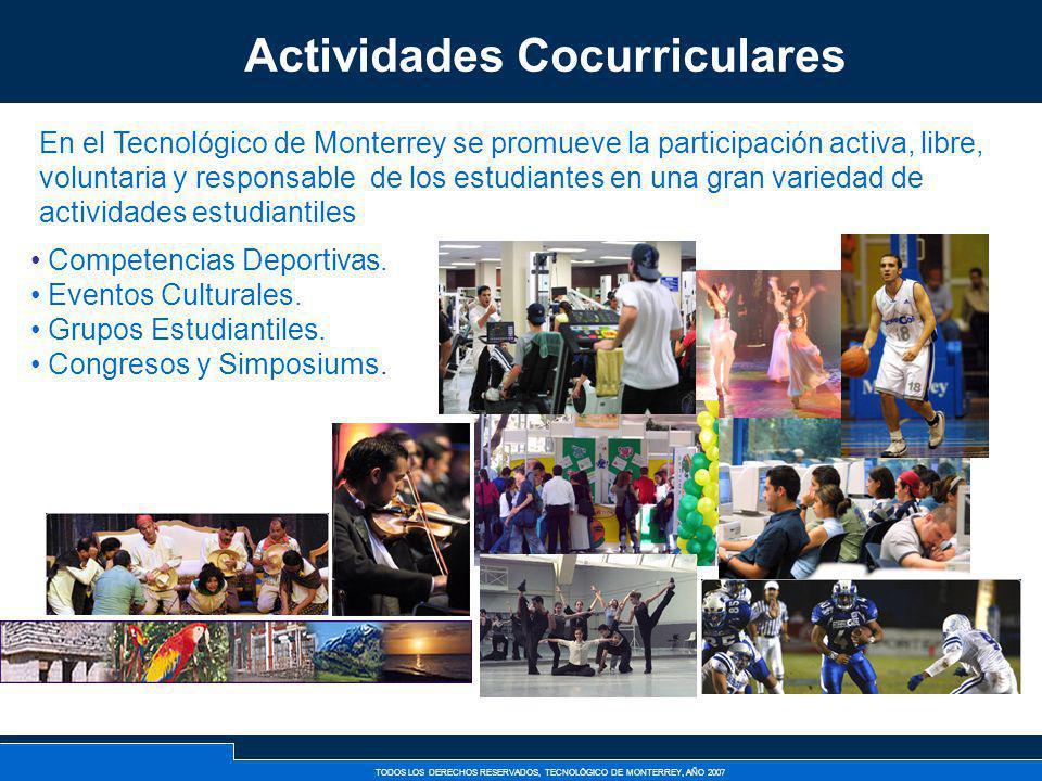 TODOS LOS DERECHOS RESERVADOS, TECNOLÓGICO DE MONTERREY, AÑO 2007 Competencias Deportivas. Eventos Culturales. Grupos Estudiantiles. Congresos y Simpo