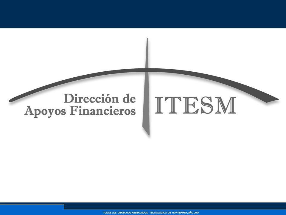 TODOS LOS DERECHOS RESERVADOS, TECNOLÓGICO DE MONTERREY, AÑO 2007