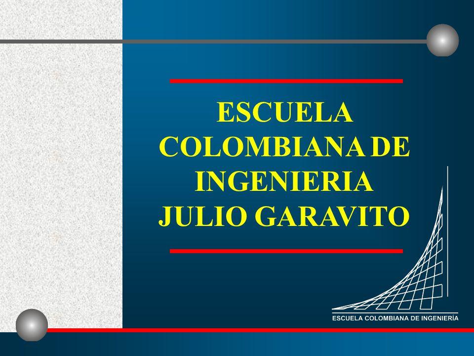 ESCUELA COLOMBIANA DE INGENIERIA JULIO GARAVITO