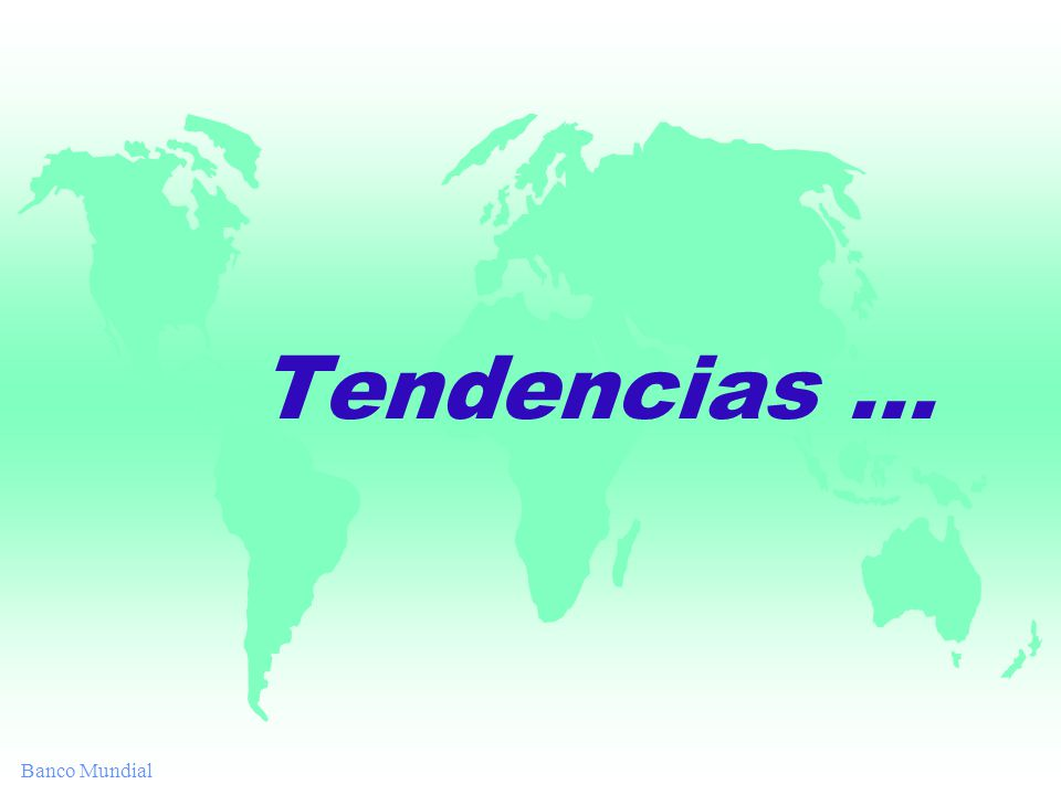 Tendencias...