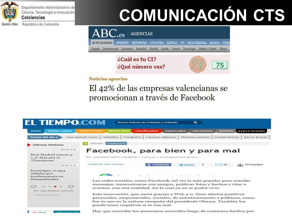 COMUNICACIÓN CTS