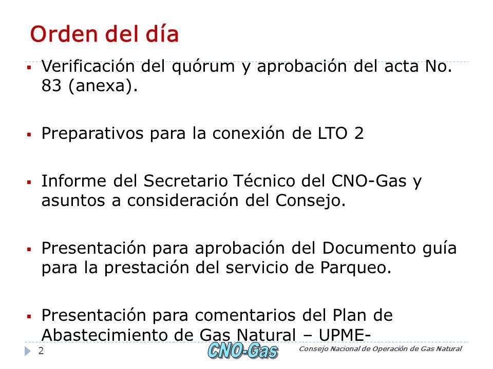 Comentarios Consejo Nacional de Operación de Gas Natural 33