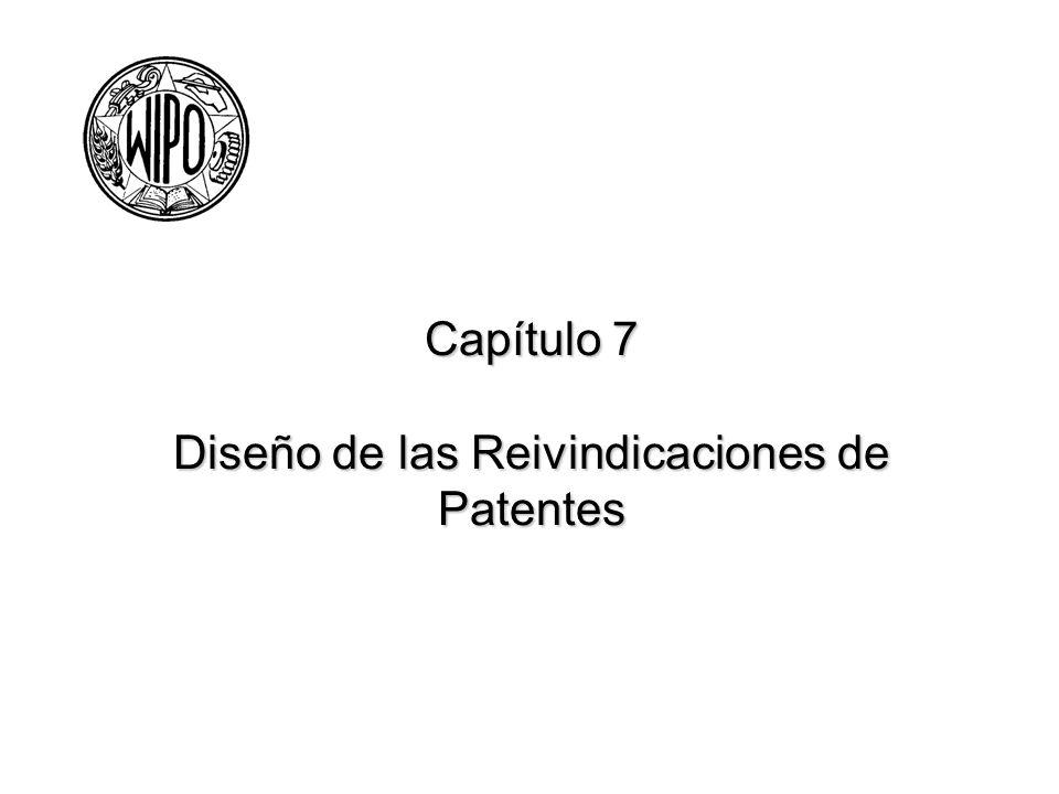 Diseño de las Reivindicaciones de Patentes Las reivindicaciones -- Representan el núcleo de cualquier solicitud Definen el alcance de protección dado a una invención Normalmente son la primera y a veces única parte de la solicitud de patente que realmente se revisa por el examinador