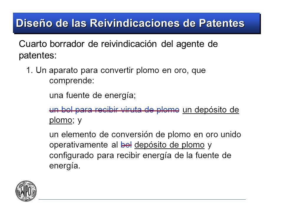 Diseño de las Reivindicaciones de Patentes Cuarto borrador de reivindicación del agente de patentes: 1. Un aparato para convertir plomo en oro, que co