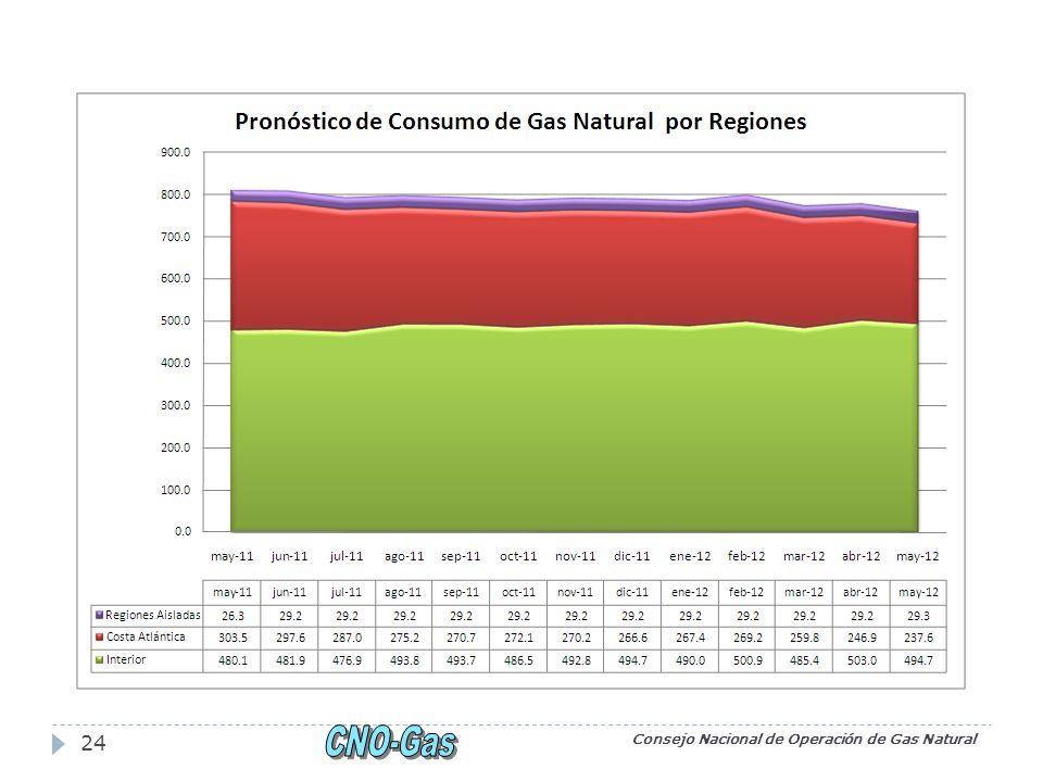 Consejo Nacional de Operación de Gas Natural 24