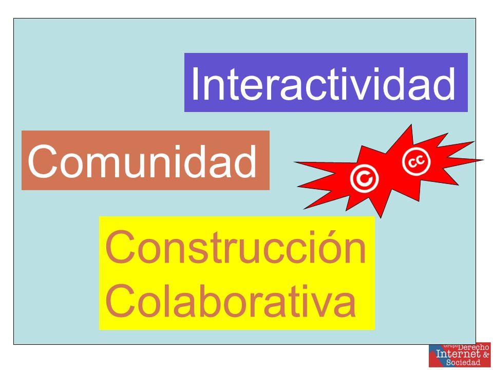 Interactividad Comunidad Construcción Colaborativa