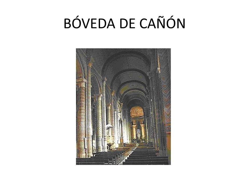 BÓVEDA DE CAÑÓN