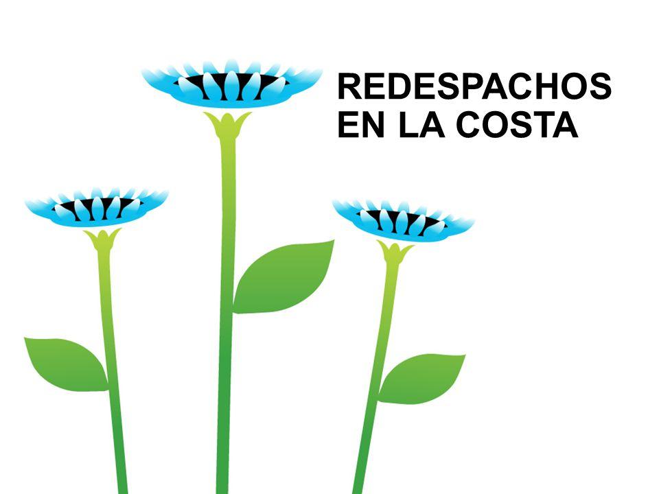 Redespachos* en 2008 y 2009… Diferencias entre el Volumen Real Tomado y las Cantidades Nominadas.