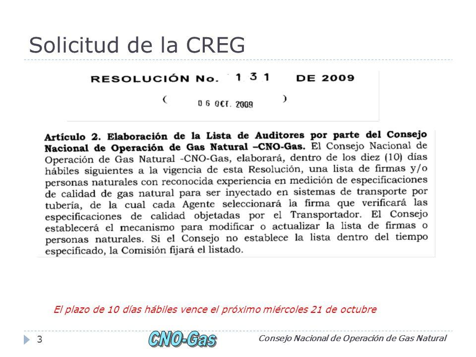 Solicitud de la ANDI Consejo Nacional de Operación de Gas Natural 4