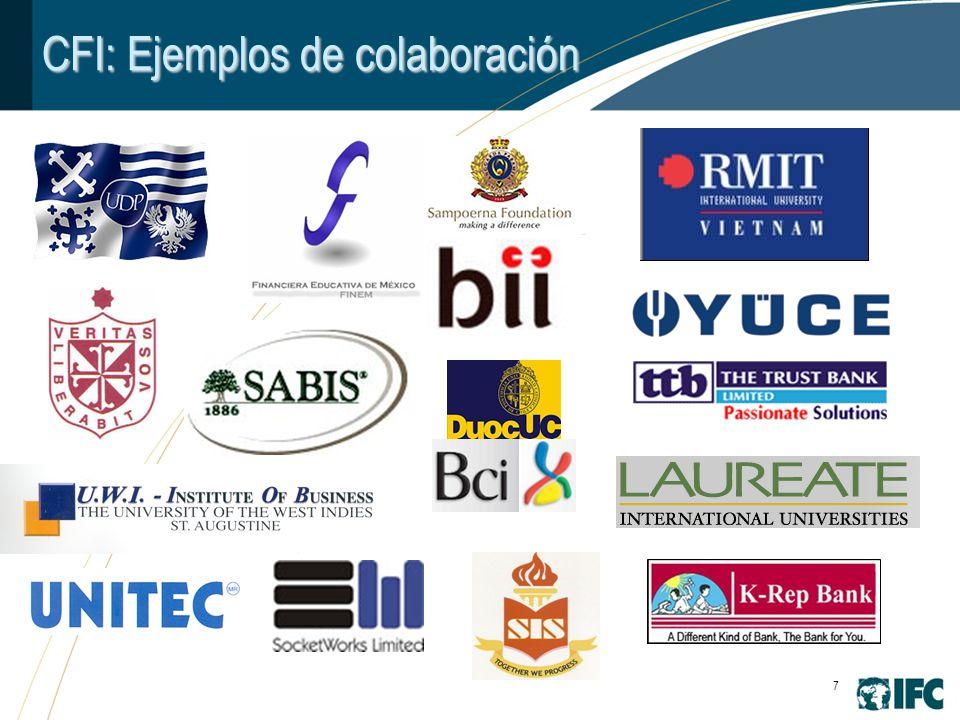 7 CFI: Ejemplos de colaboración
