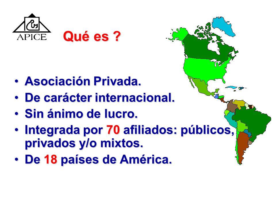 Las alianzas y negociaciones estratégicas El caso de APICE Jorge Téllez Fuentes Director Ejecutivo Cartagena, Colombia, Octubre 24 del 2003