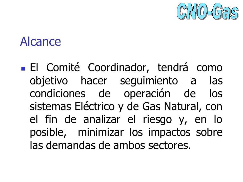 Alcance El Comité Coordinador, tendrá como objetivo hacer seguimiento a las condiciones de operación de los sistemas Eléctrico y de Gas Natural, con e