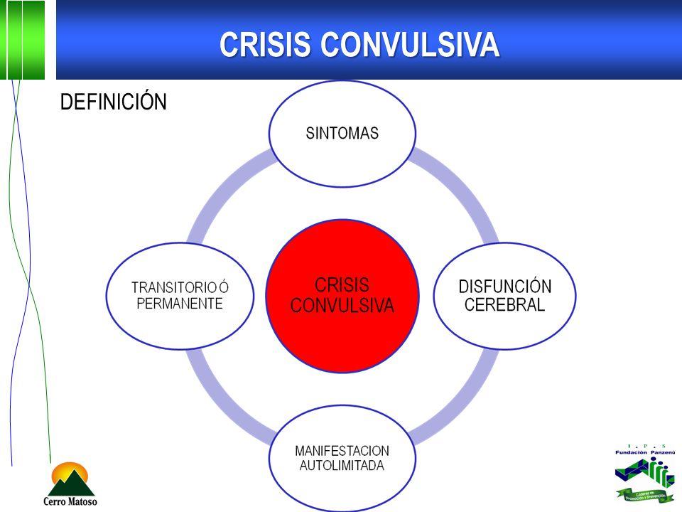DEFINICIÓN CRISIS CONVULSIVA