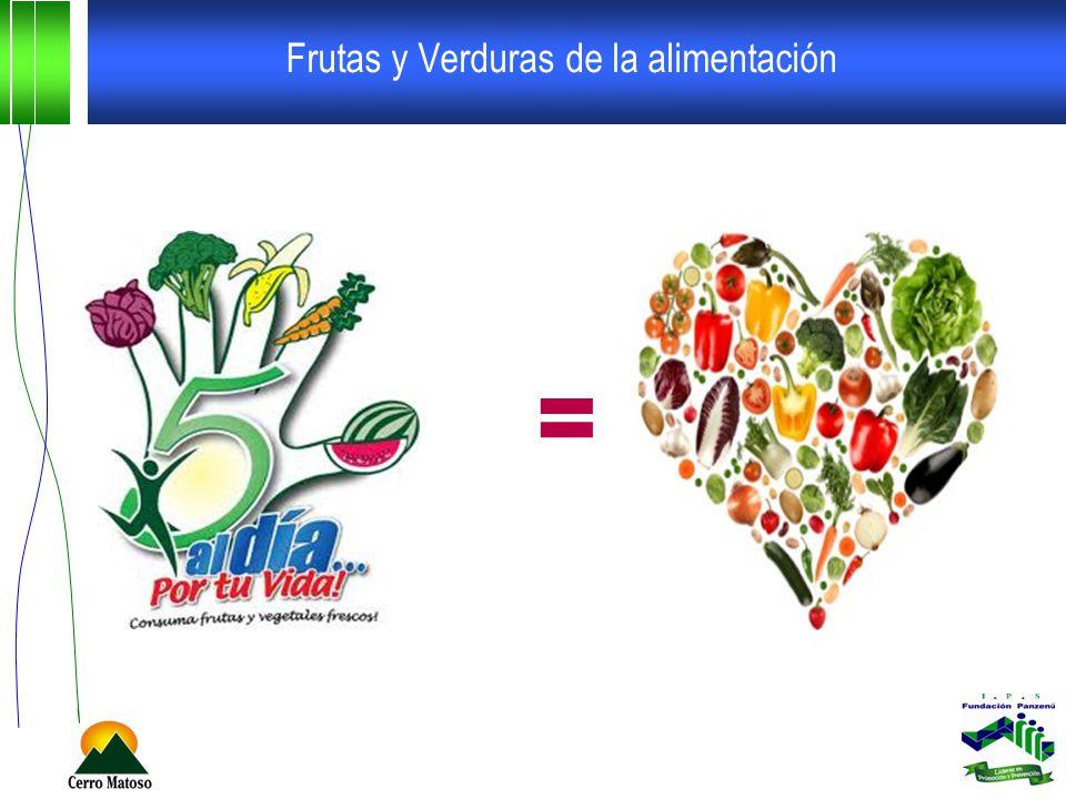 Frutas y Verduras de la alimentación =