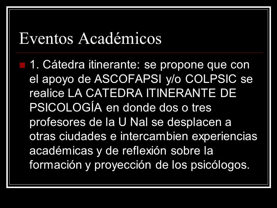 Eventos Académicos 1.